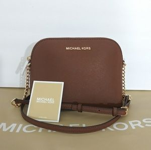 NWT MICHAEL KORS CINDY LARGE CROSSBODY BAG PURSE